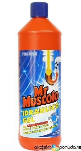 Eshop mister muscolo idraulico gel lt 1 for Mr muscle idraulico gel